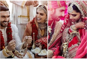 Love and Coyness Captured Candidly Of Just Married Couple Deepika – Ranveer Singh
