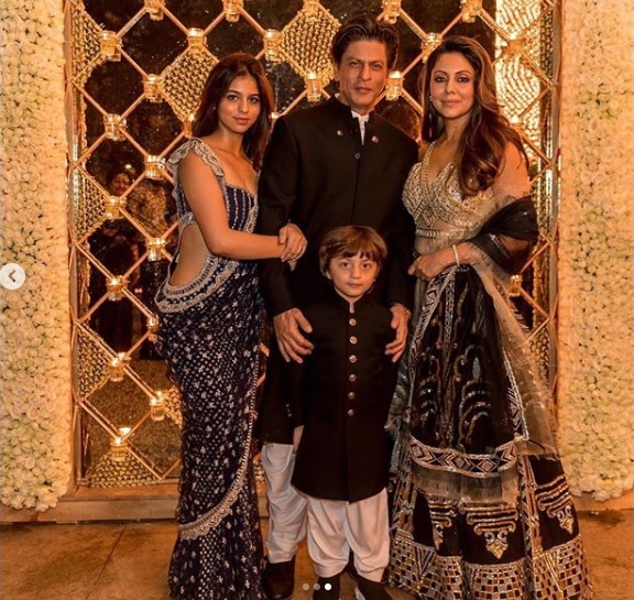 Shah Rukh Khan's Grand Diwali Party