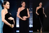 Duchess Of Sussex Meghan Markle Dazzles In Givenchy At British Fashion Awards