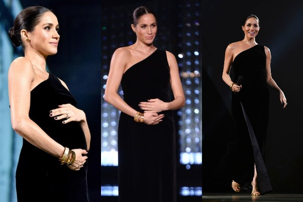Image result for duchess of sussex british fashion awards