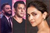 Deepika Padukone Among Top 5 On Forbes' Richest Indian Celebs List; Salman Khan Tops