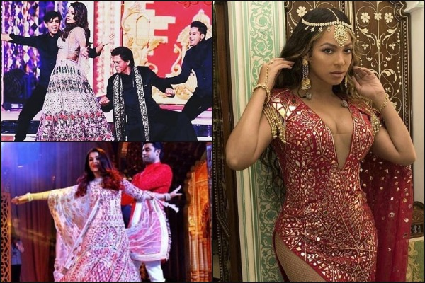 Beyoncé, Aish-Abhishek, SRK-Gauri Perform at Mukesh Ambani's Daughter Isha Ambani's Sangeet