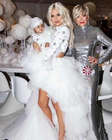 Kim Kardashian's epic Christmas party