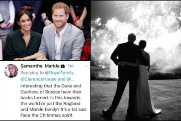 Samantha Markle Slams Meghan Markle and Prince Harry Over Christmas Card