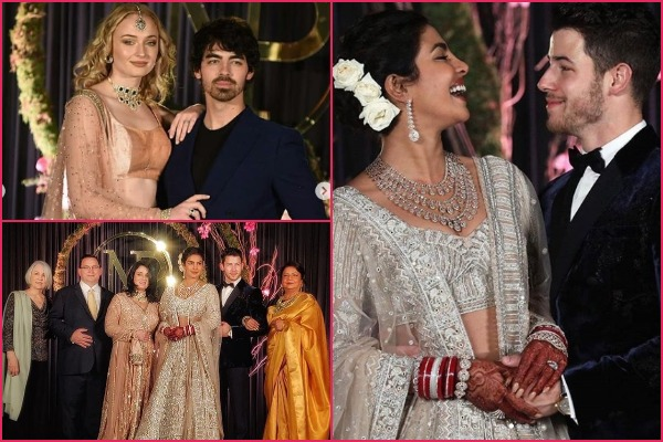 PM Modi Attends Priyanka-Nick Delhi Reception: Jonas Family, Sophie Turner Stuns In Indian Outfits
