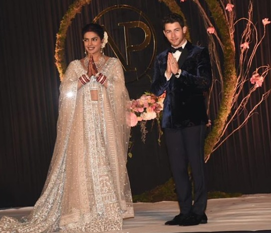 Priyanka-Nick Delhi Reception