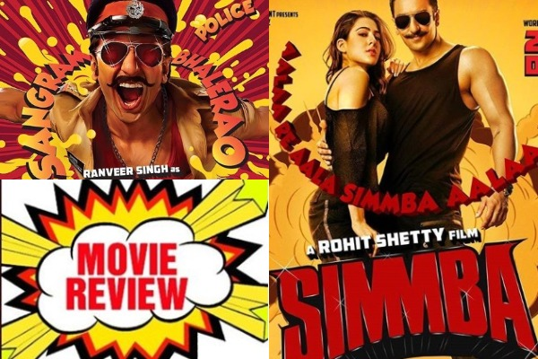 Simmba Movie Review{2/5}: Ranveer Singh – Sara Ali Khan's 'Simmba' Is A Massy Film That Follows The Oft-Repeated Plot