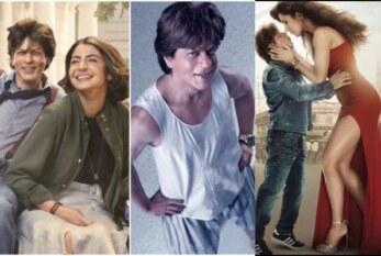 Zero Movie Review{2/5}: Shah Rukh Khan, Anushka, Katrina Take Off On A Bizarre Ride