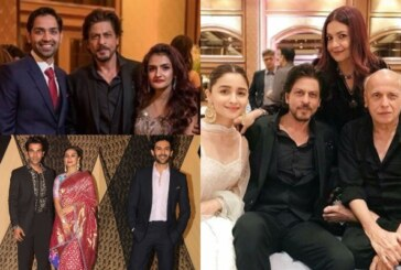 Bachchan, Khans, Akshay, Ranveer Attend Mukesh Bhatt's Daughter Sakshi's Wedding Reception