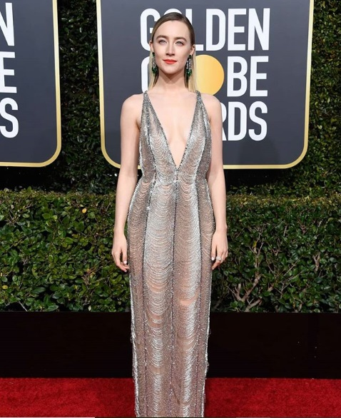 Celebrities Golden Globes 2019 Red Carpet