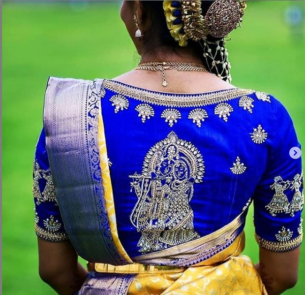 South Indian Bridal Blouse Designs