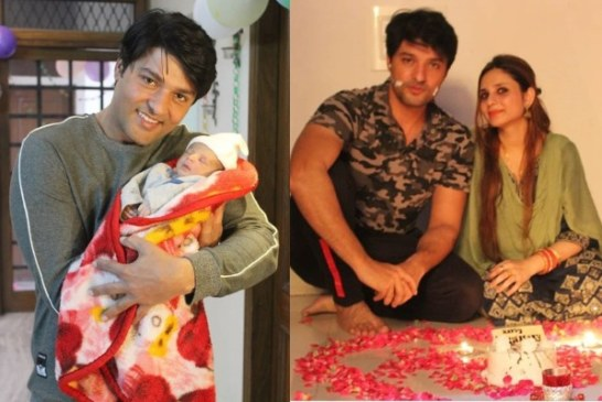'Diya Aur Baati Hum' Actor Anas Rashid Shares First Picture Of His Newborn Baby Girl Aayat