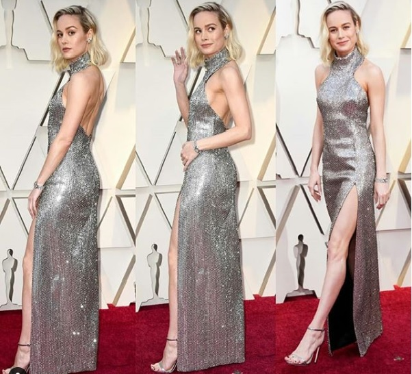 Brie Larson Showstoppers at Oscars 2019 Red Carpet