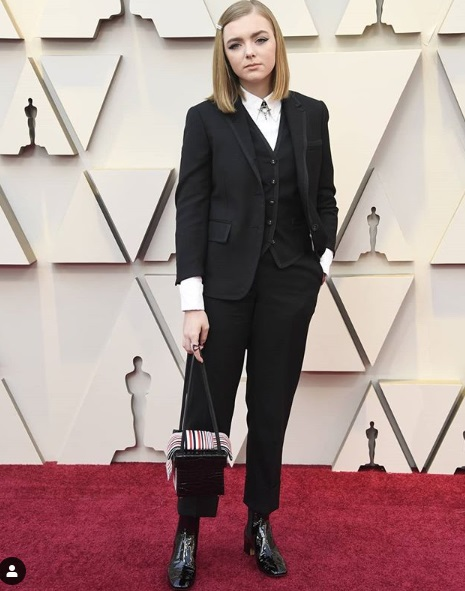 Elsie Fisher Showstoppers at Oscars 2019 Red Carpet