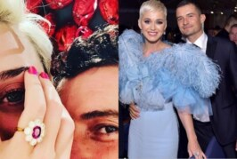 Singer Katy Perry and Orlando Bloom Engaged; Flaunts Her Engagement Ring