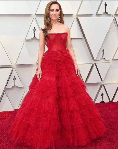Marina De Tavira Oscars 2019 Red Carpet
