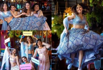 Bride-To-Be Neeti Mohan's Pre-Bridal Photo-Shoot With Her Sisters Is A Major Sibling Goal!