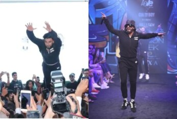 'Gully Boy' Ranveer Singh's Impromptu Stage Dive Injured Fans, Twitterati Lashed Out In Anger