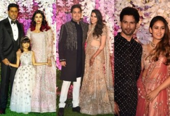 Akash Ambani, Shloka Mehta's Wedding Reception Was No Less Than A Fairytale, Here Are The Pictures