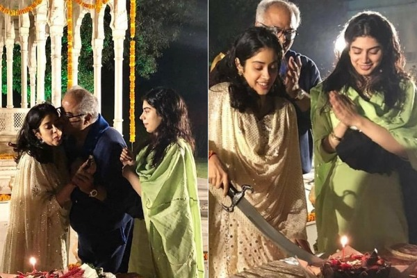 In Pics: Here's How Janhvi Kapoor Celebrated Her 22nd Birthday Sans Mom Sridevi Kapoor