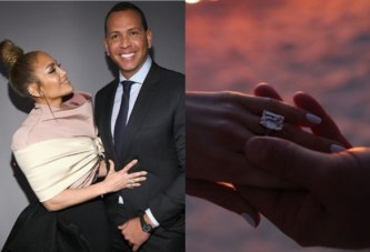 Jennifer Lopez Engaged To Alex Rodriguez With An Engagement Ring Worth 1 Million USD