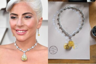 Lady Gaga Wore 128-Carat Tiffany Yellow Diamond Necklace Worth $US30 Million At Oscars