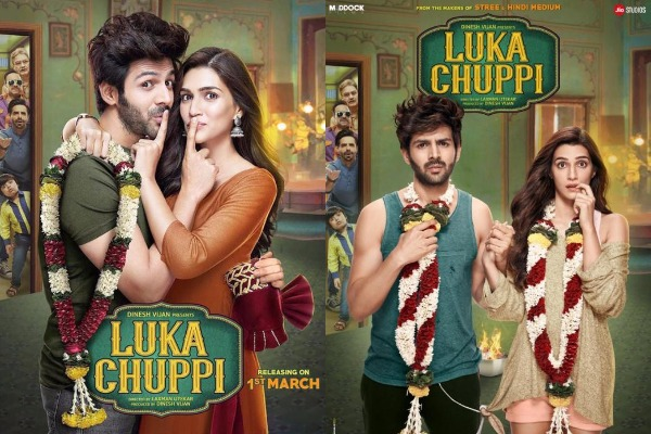 Luka Chuppi Movie Review{3/5}: Kartik Aaryan and Kriti Sanon's Guide To Live-In Relationship Is Quite entertaining
