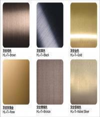 臺灣製造商 - 上久工業股份有限公司 HL+鍍鈦(HL鍍鈦不銹鋼板)