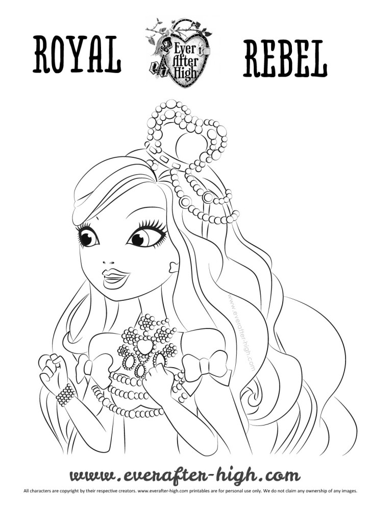 Apple Withe's legacy day outfit coloring page