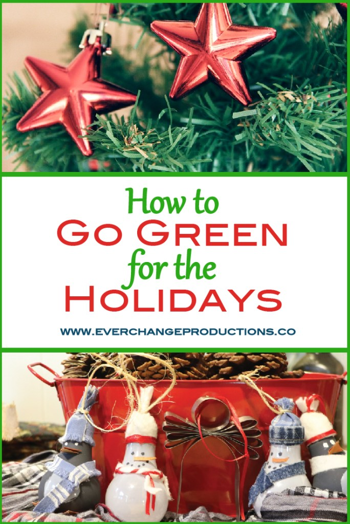 The holidays are hectic and it's easy to forget our duty to care for the Earth. Check out these easy tips to go green for the holidays.