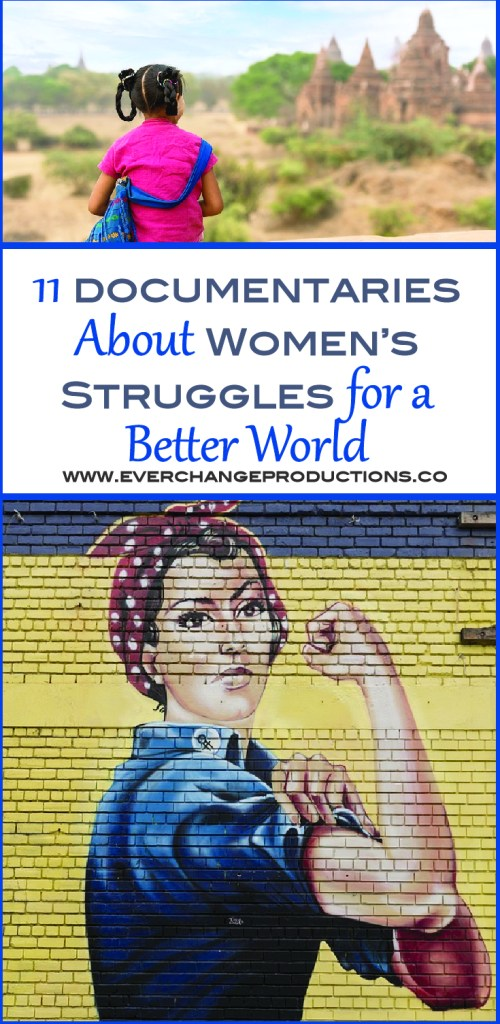 To celebrate National Women's History, I wanted to explore a selection of documentaries about women's struggles. Women's struggles are some the most prevalent problems in the world today. National Women's History month has brought to light several inspirational messages, especially about women's struggles to live in this world.