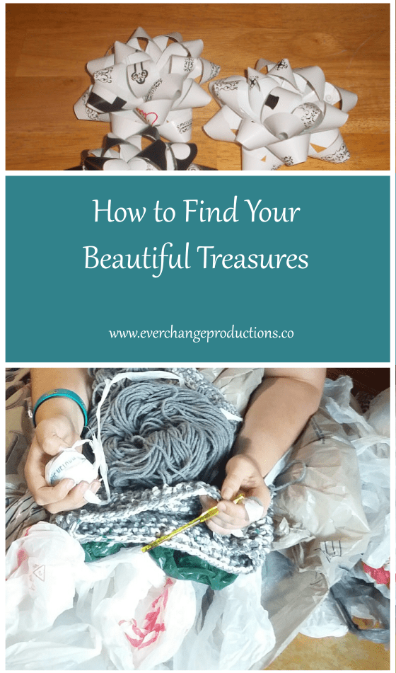 It's easy to focus on our imperfections, but instead we should find beauty in the small things. Check out this post on how to find your beautiful treasures.