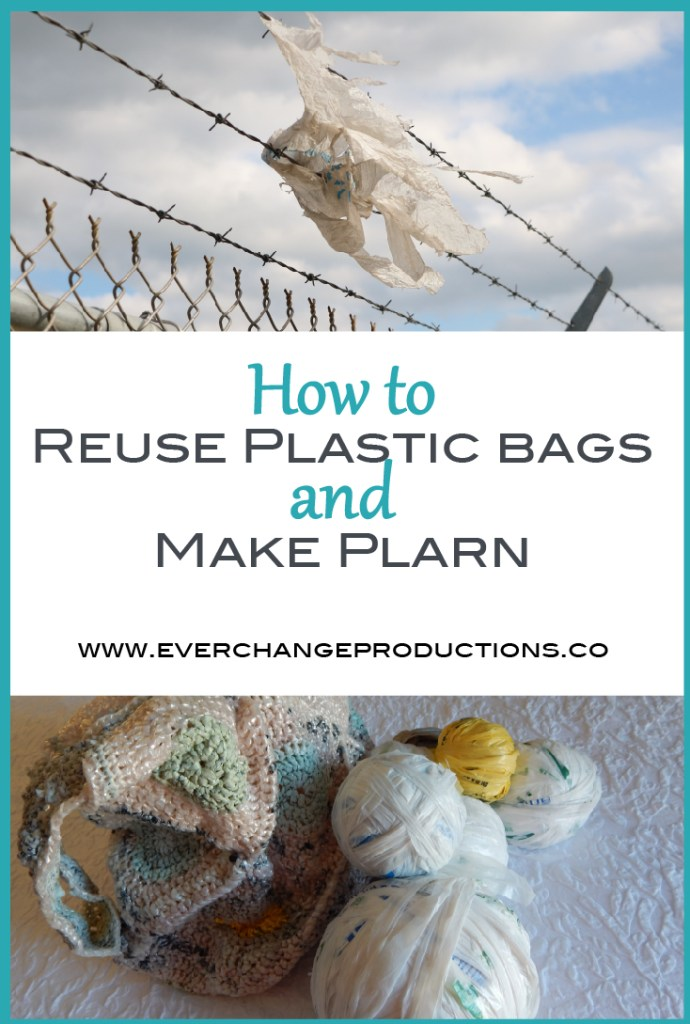 Making plarn is one of my favorite upcycling projects and reuse plastic bags. I've mentioned it quite a few times in various posts, so today I'm going to show to make plarn.