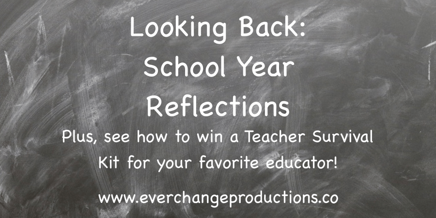 It's time for school year reflections! Tell me about the teacher that changed your life and enter them in a contest to win a teacher survival kit!