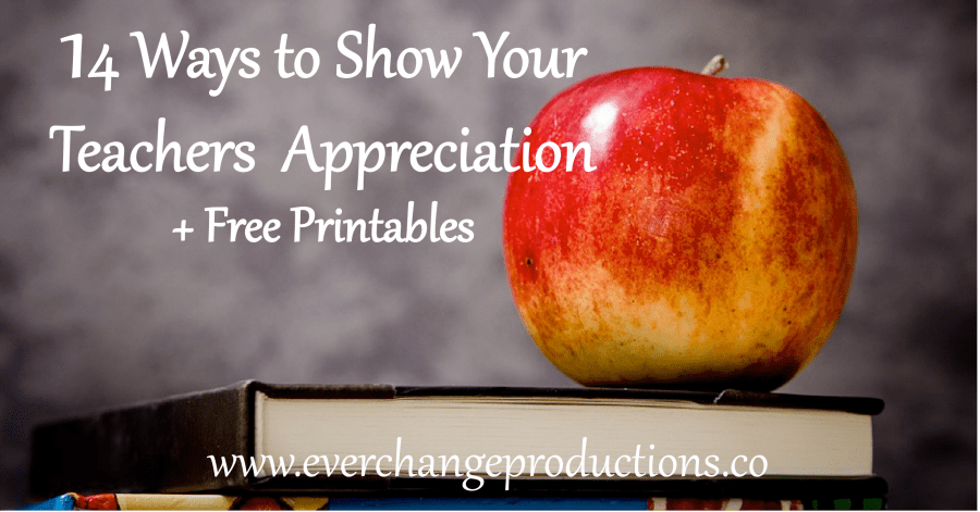 There are so many ways we can show teachers appreciation. In our rocky political and social climate, it's more important than ever that we do.