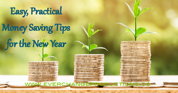 Looking for New Year resolution ideas? Get your finances in order for the new year with these practical money saving tips!