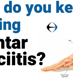 plantar fasciitis why do you keep getting plantar fasciitis evercore move with a strong healthy body [ 1280 x 720 Pixel ]