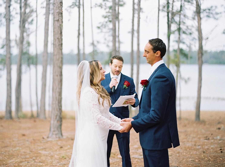 Robin Amp Ron Doe Lake Campground Wedding Ocala National