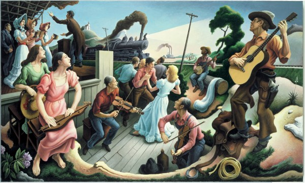 Thomas Hart Benton Sources of Country Music