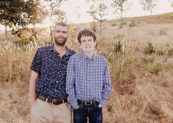 Erik and son Gavin