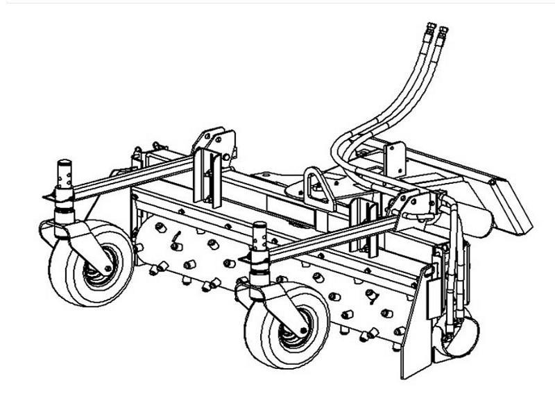 Boxer Harley Power Box Rake Manual Angling Implements