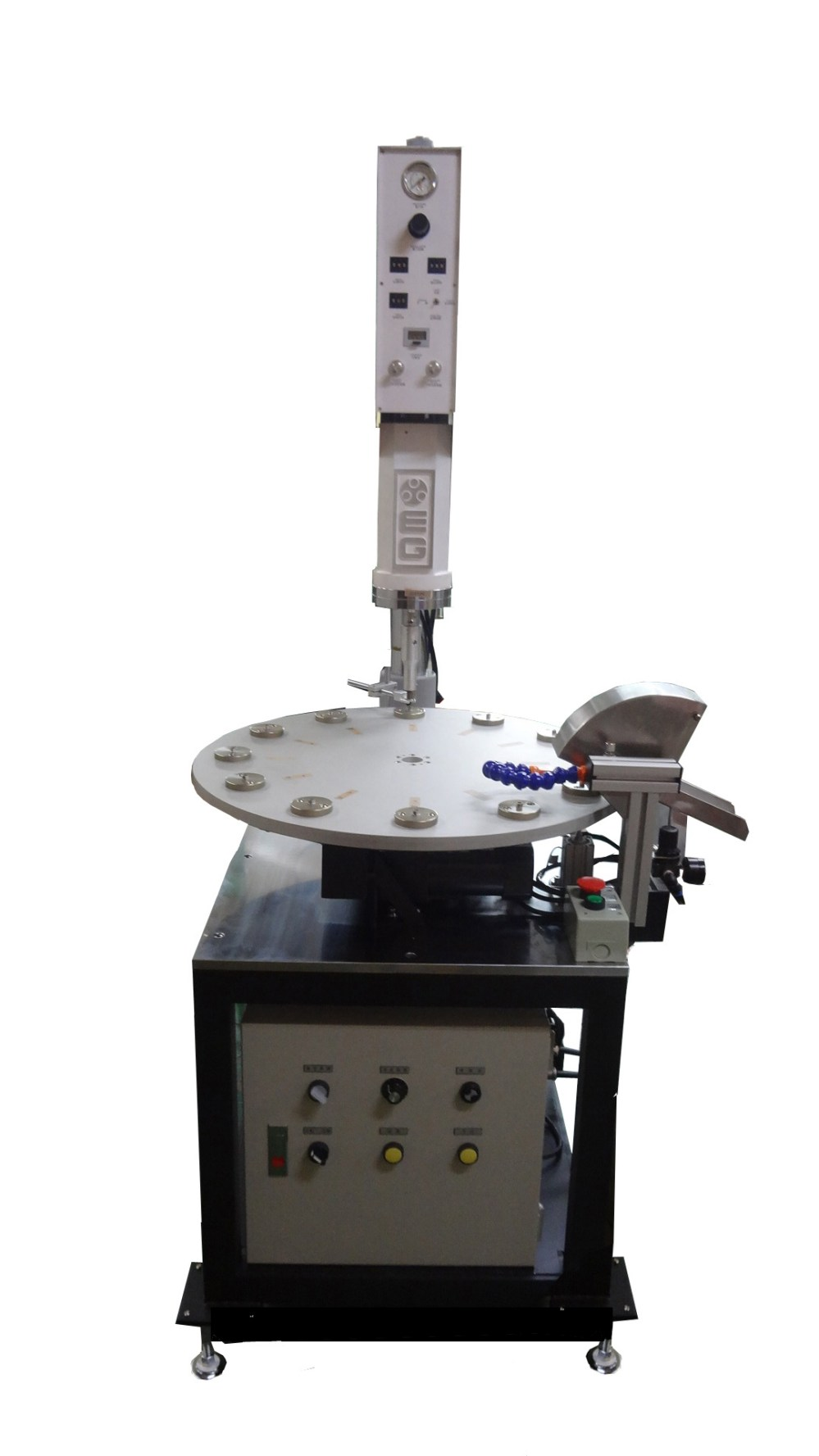 medium resolution of ultrasonic welding machine rotary plate