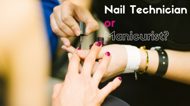 Mainicuring And Nail Technology