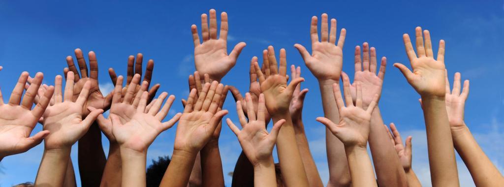 volunteer real hands