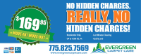 Cleaning Coupons and Specials - Evergreen Carpet Care