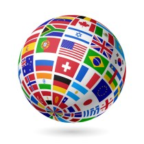 http://www.dreamstime.com/stock-image-flags-globe-image26394831