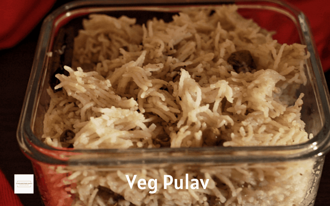 Vegetable Pulav/ how to make veg pulav