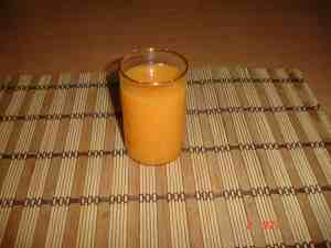 Muskmelon smoothie