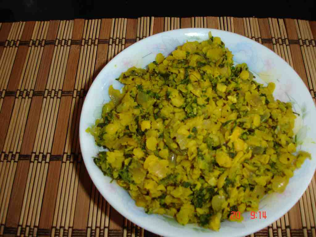 Dal with methi