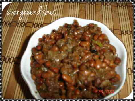 blackeyed bean veggie